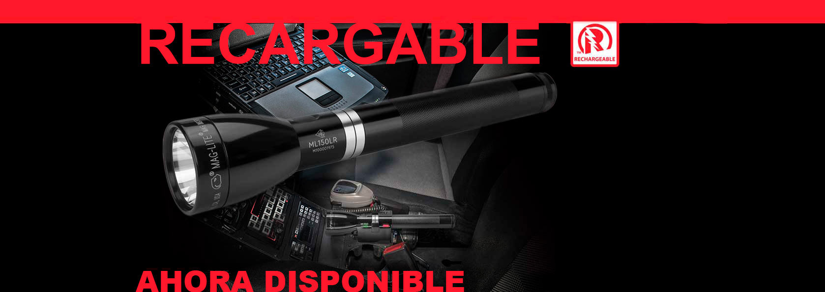 MAGLITE ML150LR - Sistema Recargable