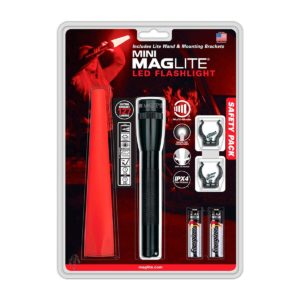 Linterna Mini Maglite AA LED Safety Pack